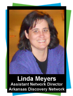 Linda Meyers, Assistant Director, Arkansas Discovery Network